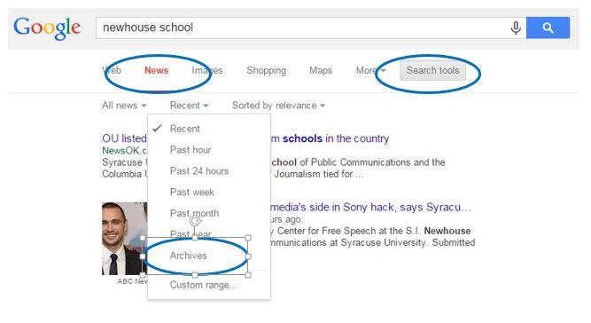 GoogleNewsArchive